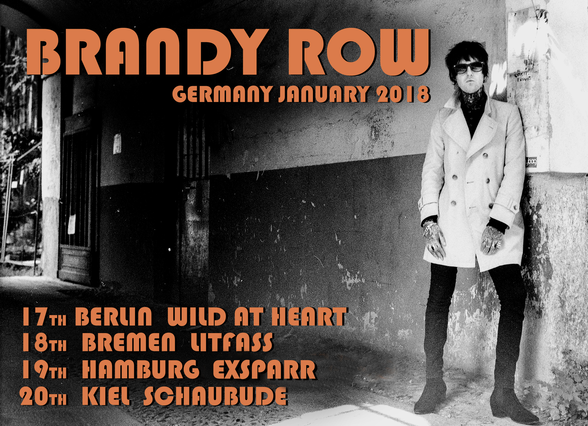 Berlin Tomorrow! just been confirmed for Tide Radio Live this Friday at 2pm in Hamburg