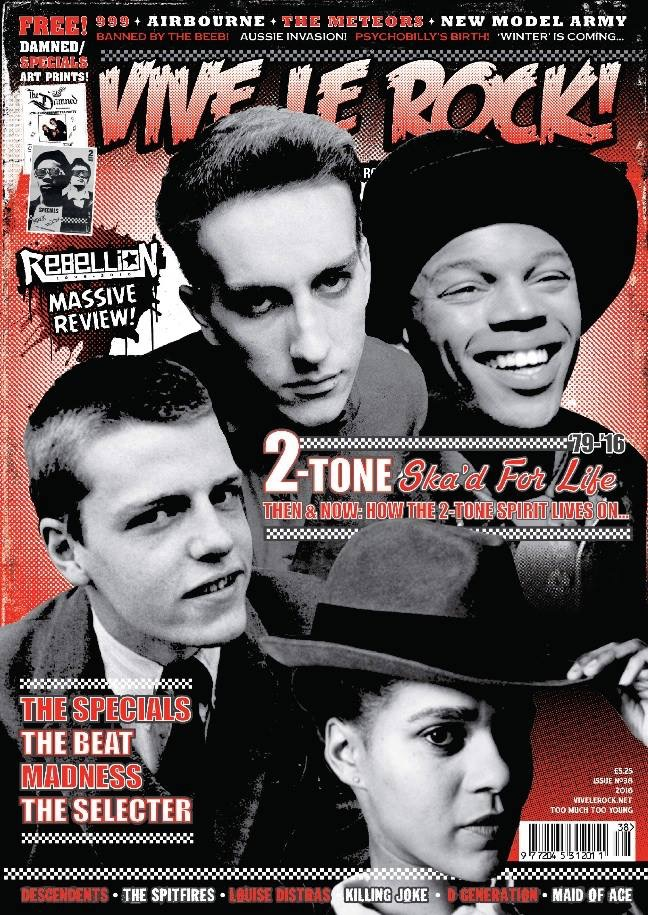 The next issue of Vive Le Rock features an article on yours truly! in stores the 26th of august