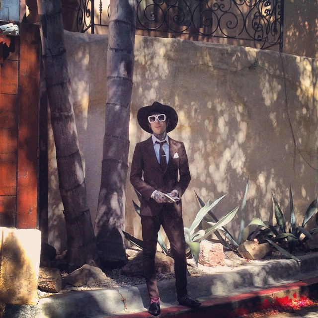 First stop – Jim Morrison's old house in West Hollywood