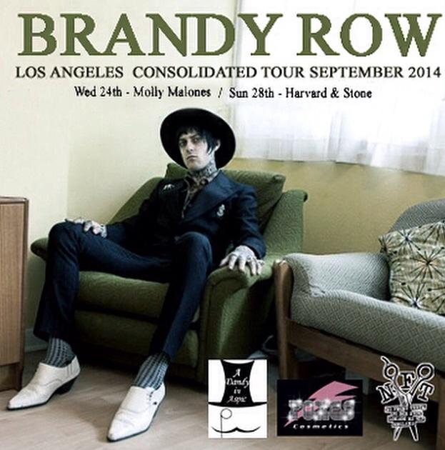 Brandy Row Consolidated USA tour 2014