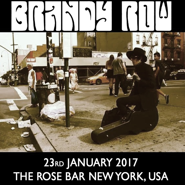 In just under a month i'll be playing 2 shows In NYC