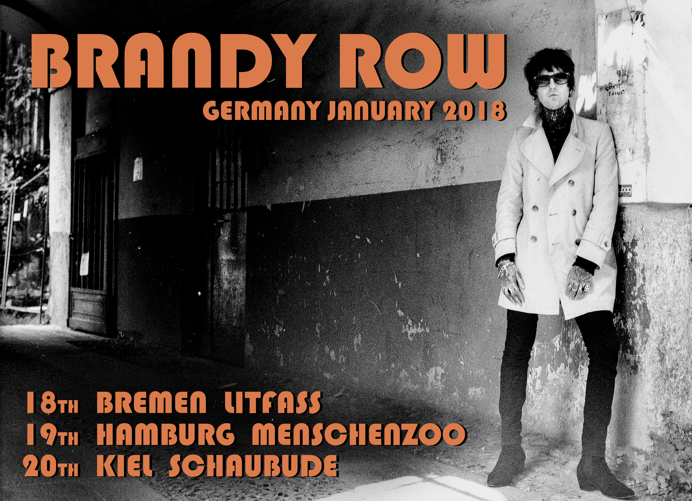 Next January I will be back in Germany for a run of dates!
