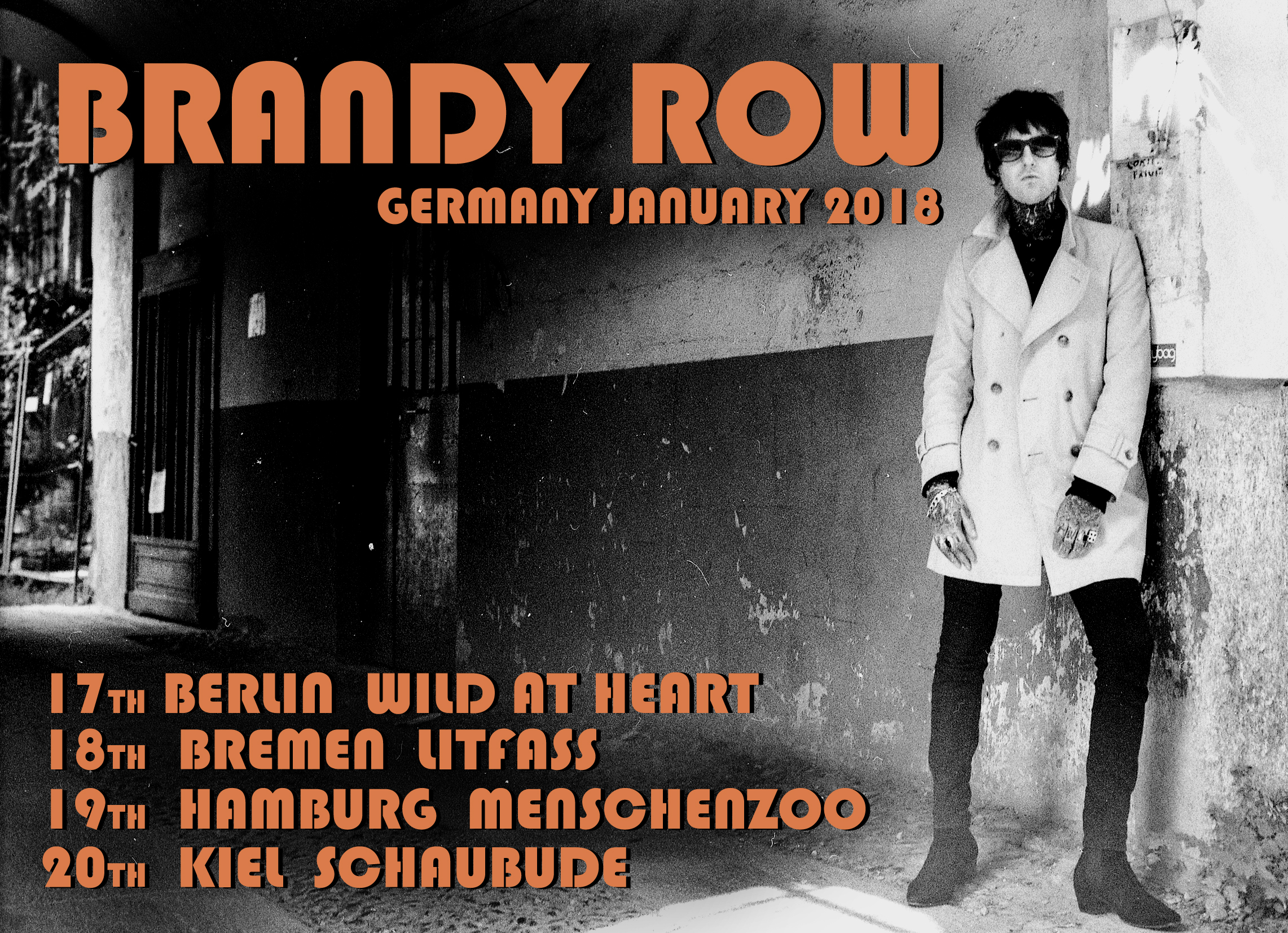 Germany Tour is just around the corner. First stop Berlin!