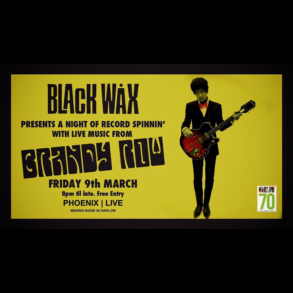 Very excited to announce I'll be live on Black wax Radio on 9th of march